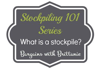 stockpiling 101