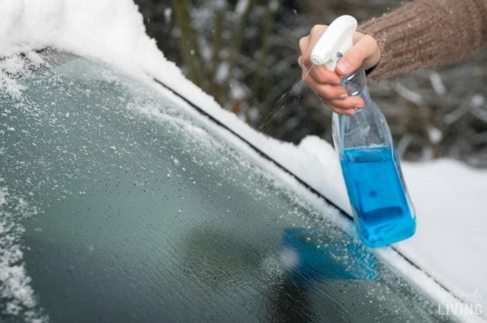 Homemade De-Icer Spray Featured