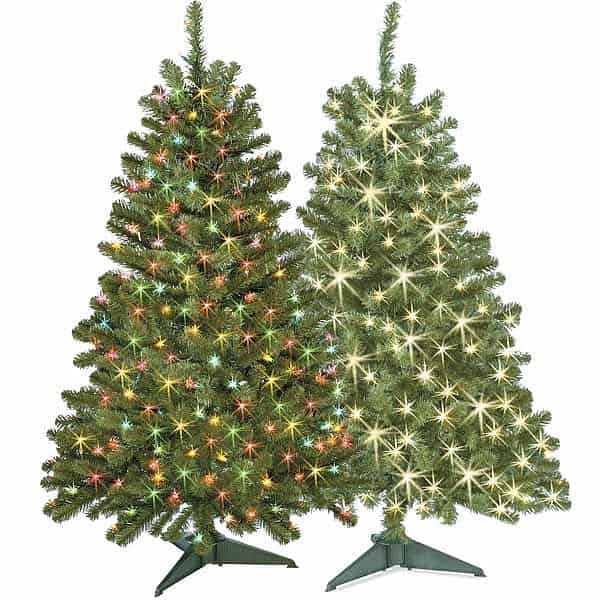 4-FT. Pre-Lit Hillside Pine Christmas Tree Just $19.99 at Michaels ...