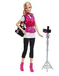 Barbie I Can Be Fashion Photographer Doll Just $6.99 at ...