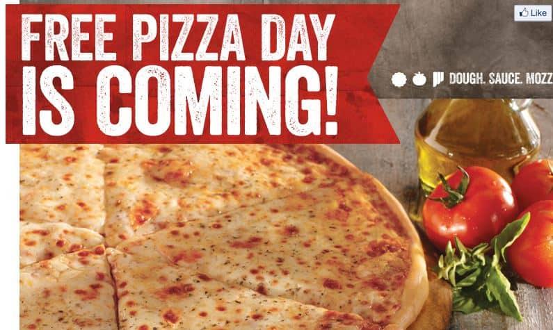 FREE Pizza At Sbarro On November 3rd Simplistically Living