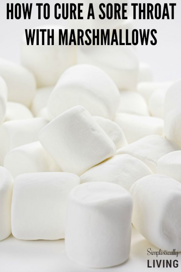 how to cure a sore throat with marshmallows