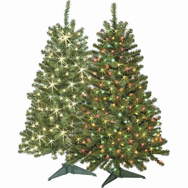 7-FT. PRE-LIT WILLOW PINE Christmas Tree Just $99.99 (57% off ...