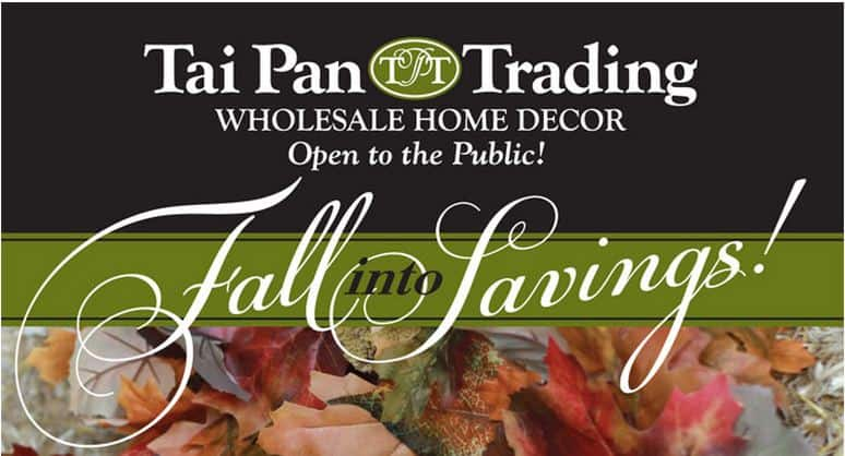 Tai Pan Trading Has Released 3 New Coupons Plus They Are Offering 50 Off All Halloween Decor