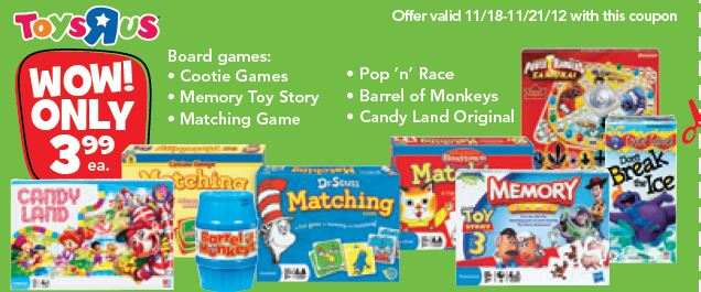 Select Board Games Just 3 99 At Toys R Us Simplistically Living