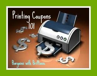 printing coupons 101