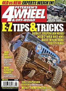 4wheel and off road magazine