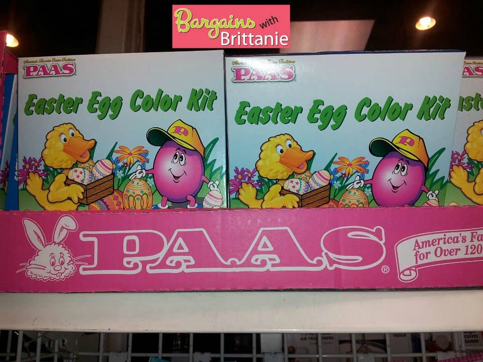 paas easter kits at dollar tree