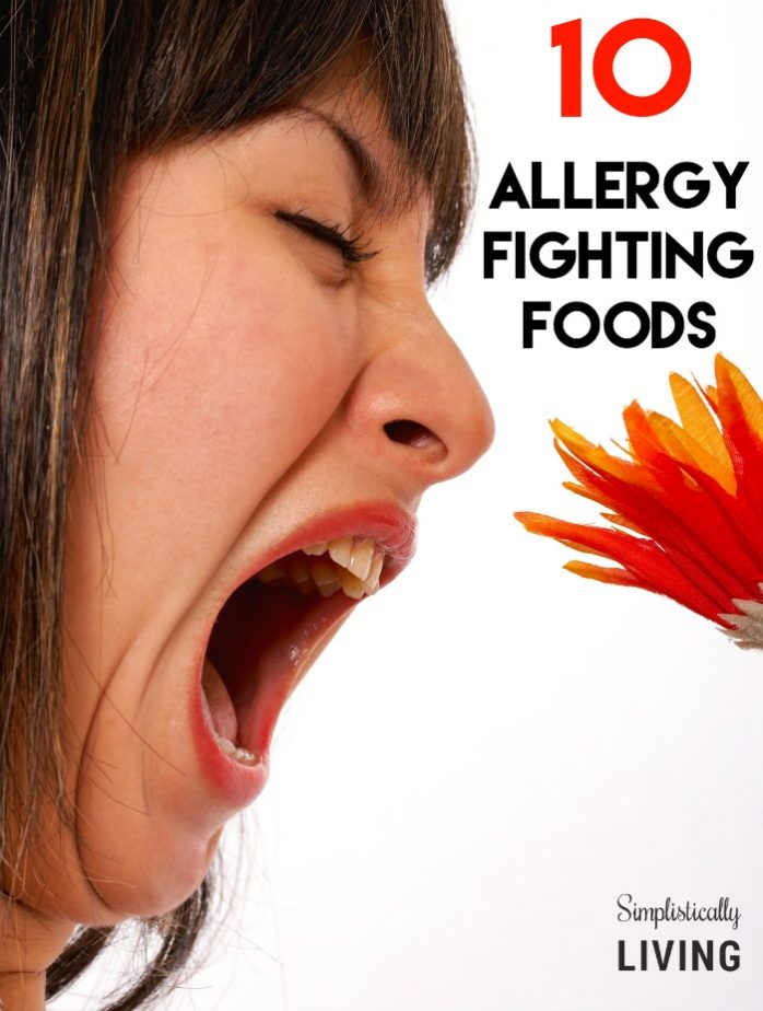 10 allergy fighting foods