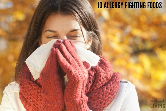 ALLERGY FIGHTING FOODS
