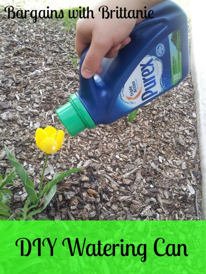 DIY watering can