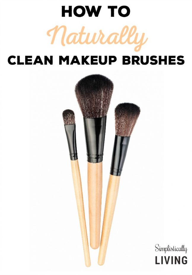 How to Naturally Clean Makeup Brushes
