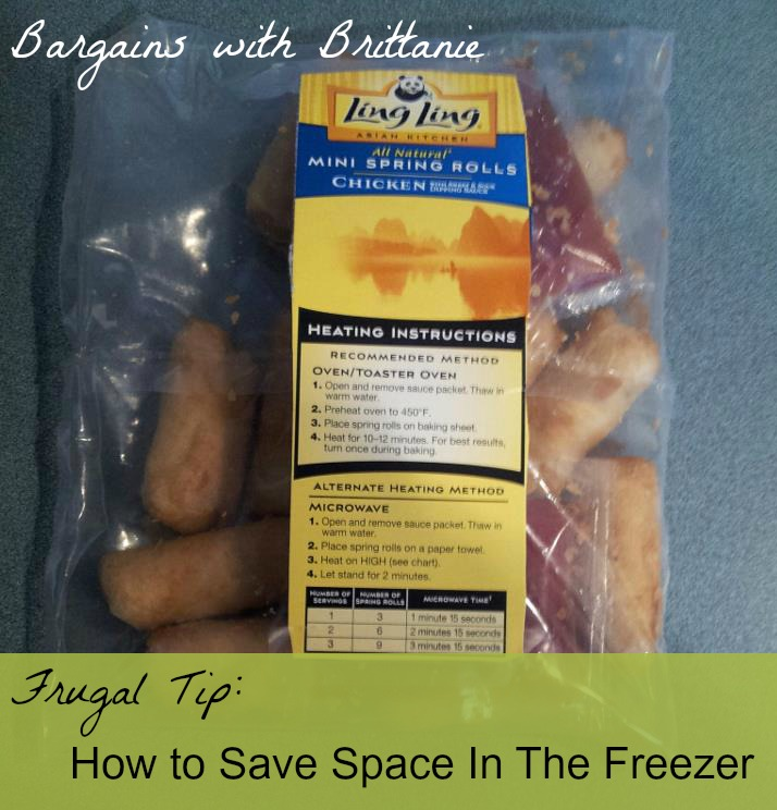 how to save space in the freezer