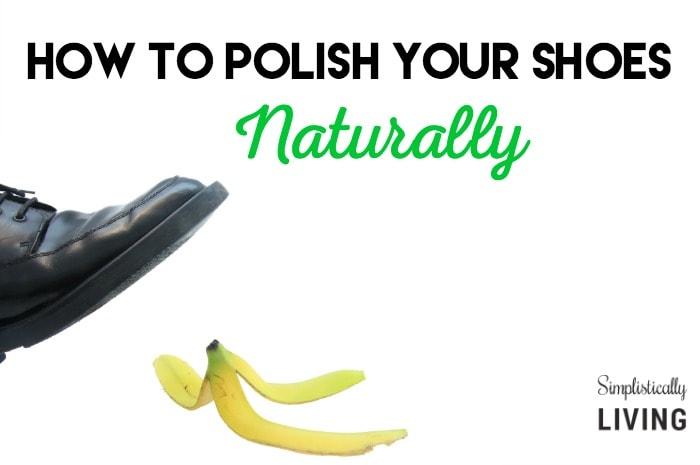 polish shoes naturally