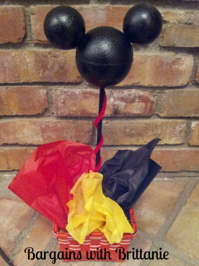 DIY Mickey Mouse Party Centerpieces!