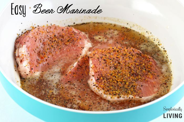 easy beer marinade featured