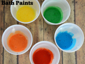 DIY Homemade Bath Paints!