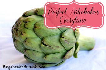 How to Make Perfect Artichokes Every Time!
