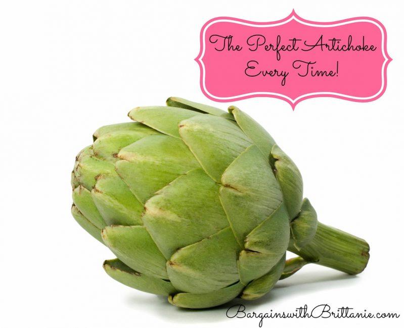 the perfect artichoke