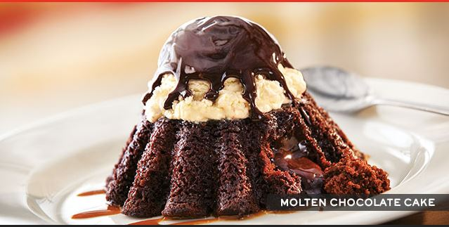 Satisfy that chocolate craving with Chili's Molten Chocolate Cake ...