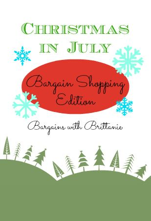 christmas in july bargain edition