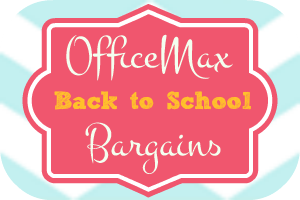 officemax back to school bargains