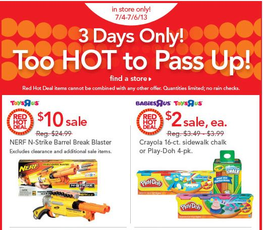 red hot deals