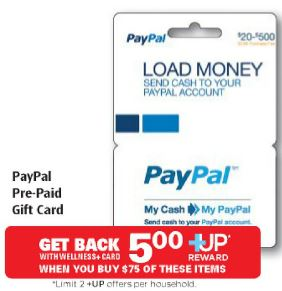 HOT* $75.00 PayPal Gift Card only $70.00!