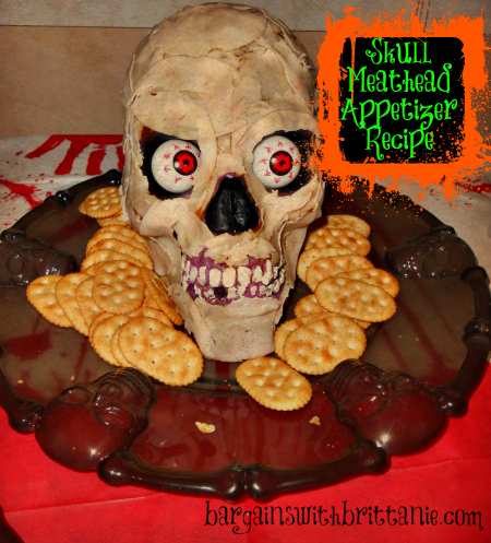 Skull Meathead Appetizer Recipe