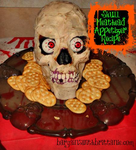 Skull Meathead Appetizer Recipe