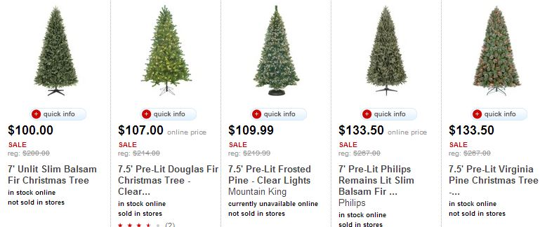 Target: All Christmas Trees 50%! Today Only! Simplistically Living