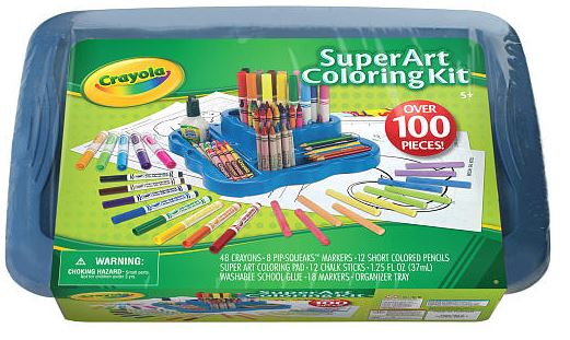 Crayola Super Art Coloring Kit only $10.00! Simplistically Living