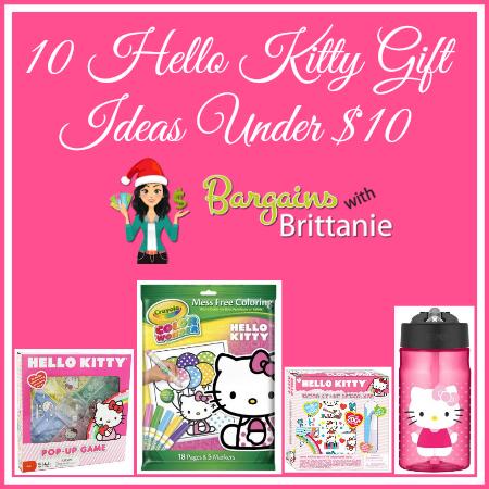 10 Hello Kitty Gift Ideas Under $10