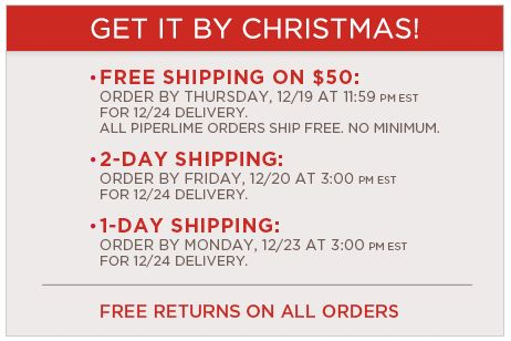 old navy shipping deadline