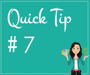 quick-tip 7