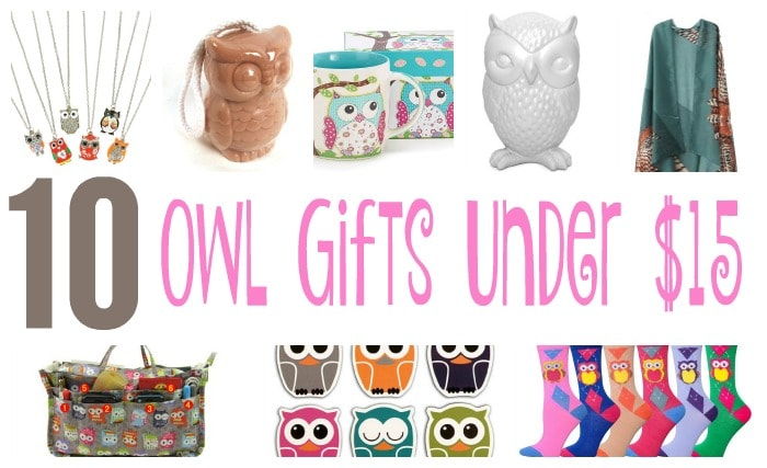 10 owl gifts under $15 featured