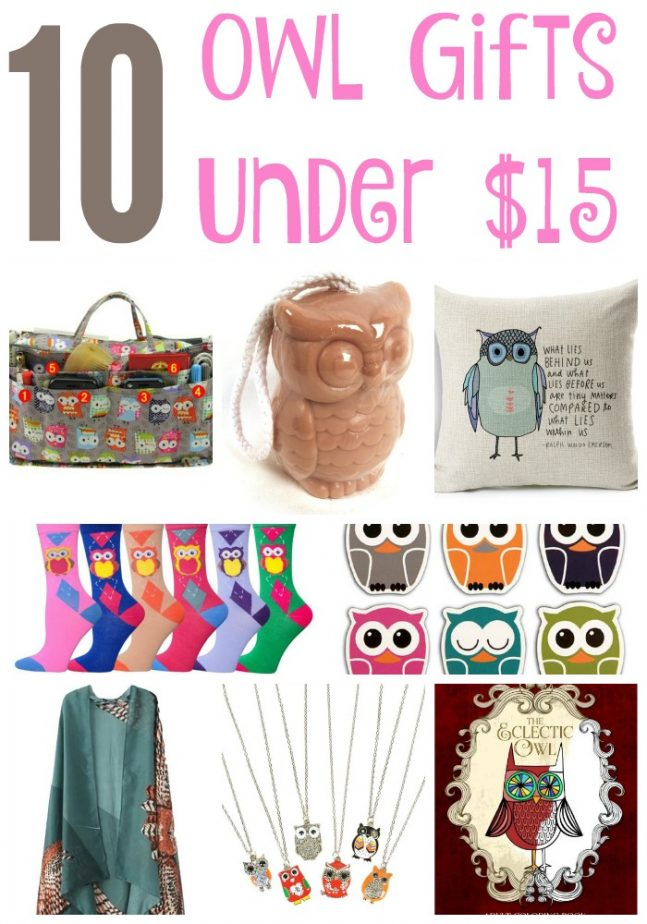 10 Owl Gifts Under 15