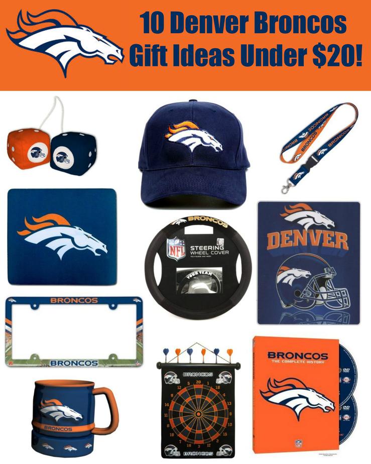10 Denver Broncos Gift Ideas Under $20! Simplistically Living