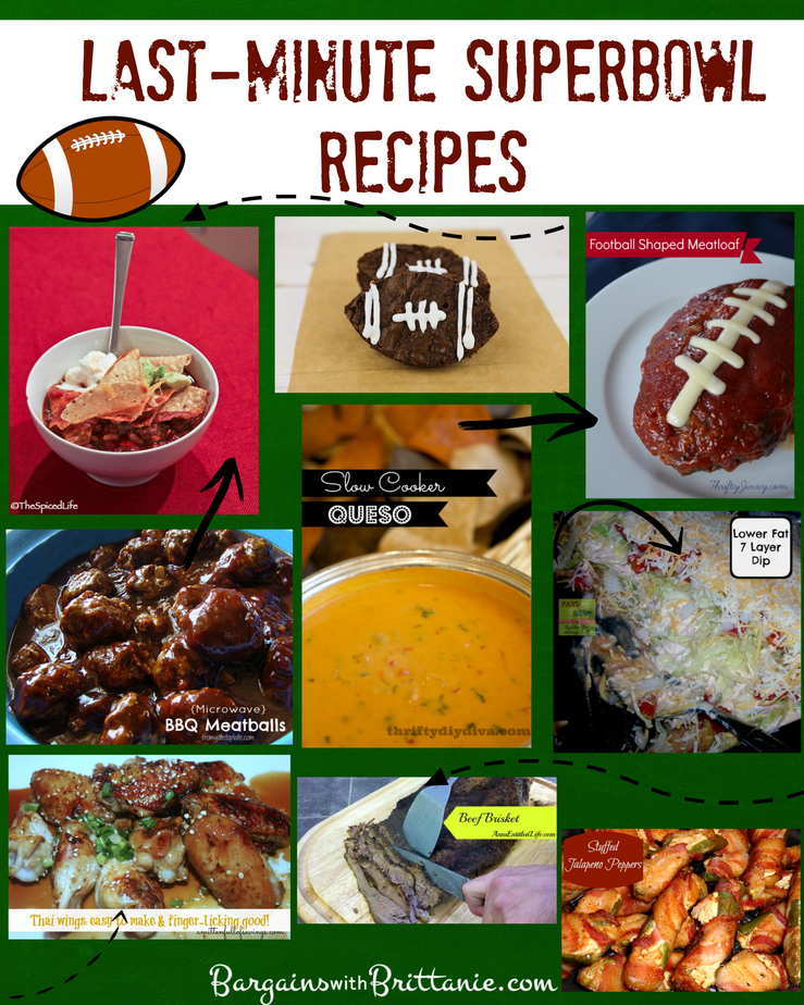 Last-Minute Superbowl Recipes