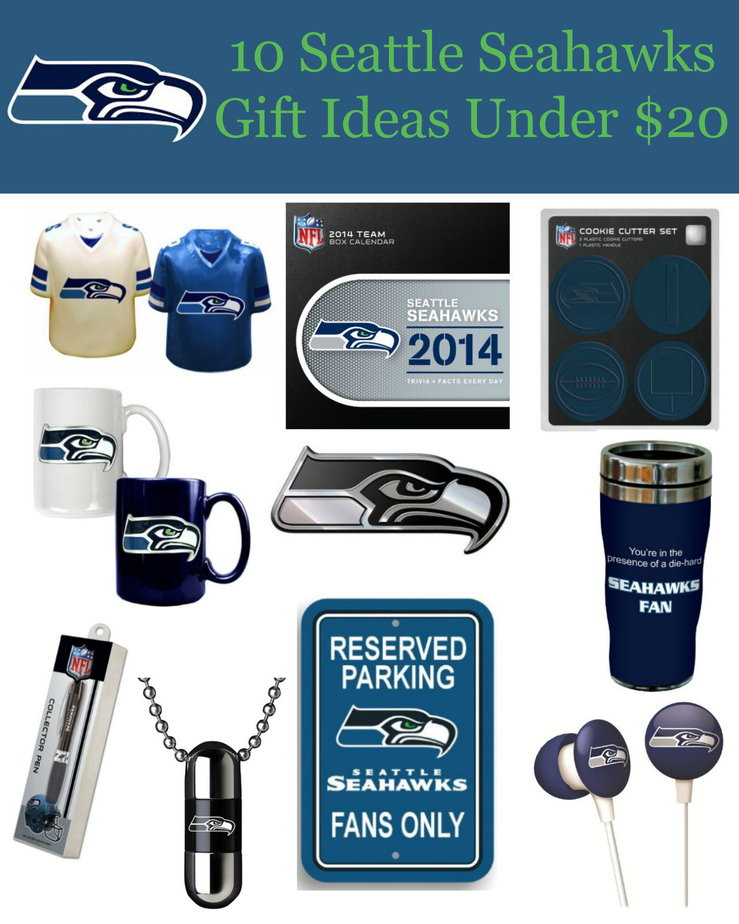 10 Seattle Seahawks Gift Ideas Under $20! Simplistically Living
