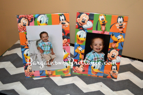 mickey picture frames