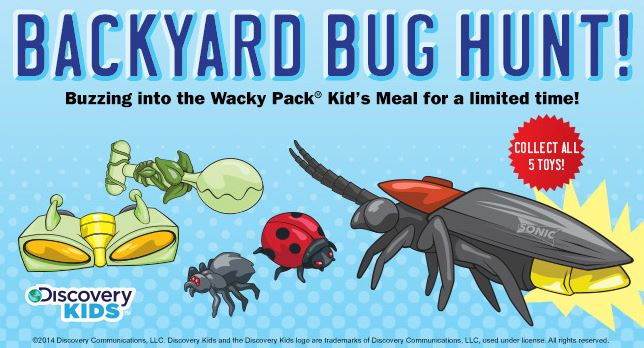 Sonic Wacky Pack Kid S Meals Only 1 99 With Coupon And Purchase Of