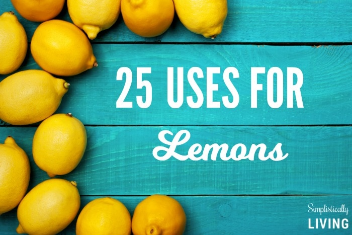 25 Uses for Lemons Featured
