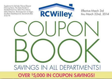 Rc willey coupon code