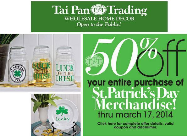 Tai Pan Trading Coupon