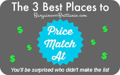 the best places to price match at