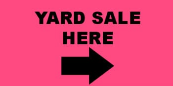 yard sale here