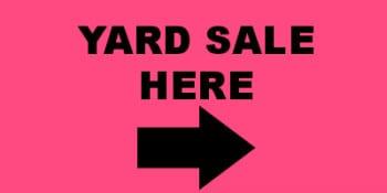 yard sale here