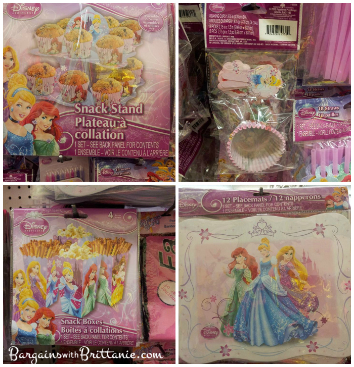 Disney Princess Spider Man Birthday Party Supplies Found At