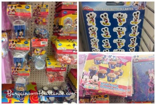 mickey party supplies at dollar tree